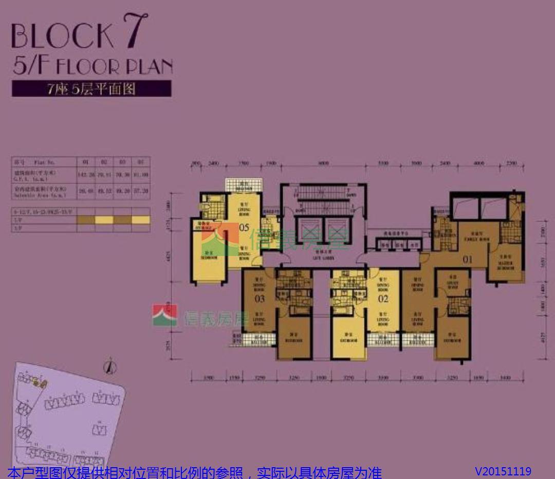 长12米宽10米一房一厅一厨一卫住宅平面设计图